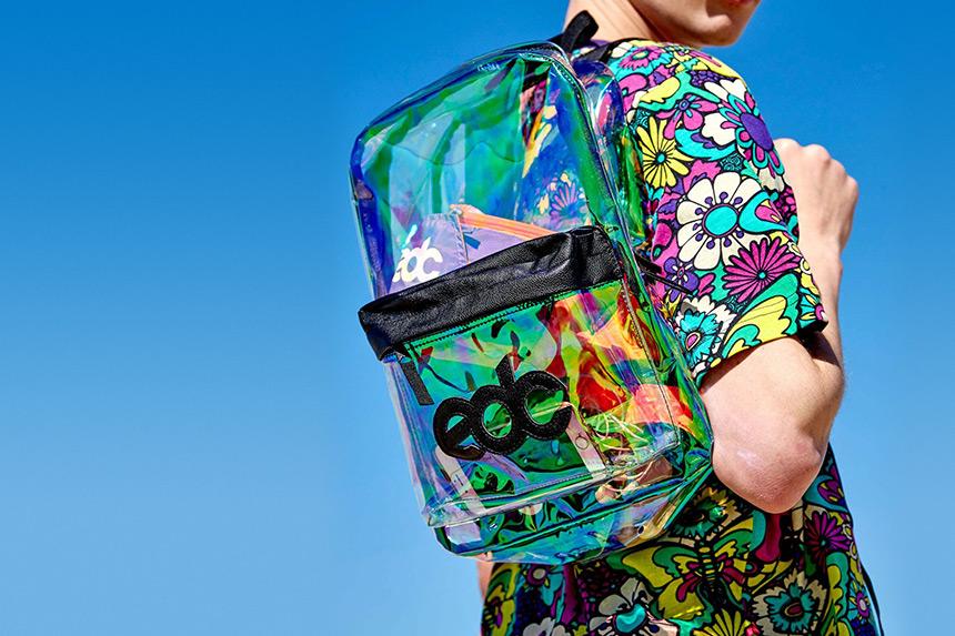 经常丢东西?你一定需要一个EDC透明炫彩背包!